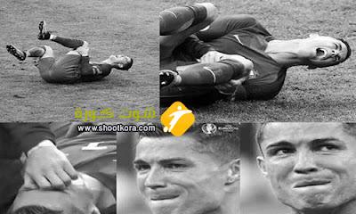 الاصابه تمنع البرتغالى رونالدو من المشاركه مع فريقه فى كأس السوبر الاوروبى امام اشبيلية