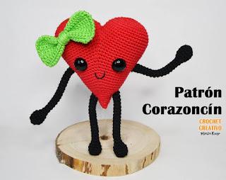 PATRON GRATIS CORAZON AMIGURUMI 40612