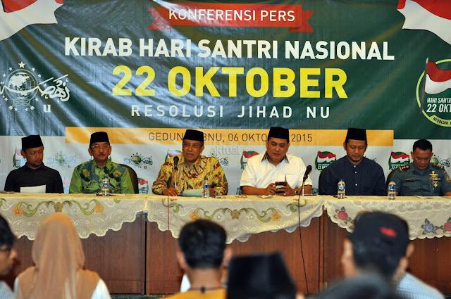 Hari Santri Nasional di Sidoarjo, 50.000 Santri akan Ngaji kitab Kuning bersama Jokowi