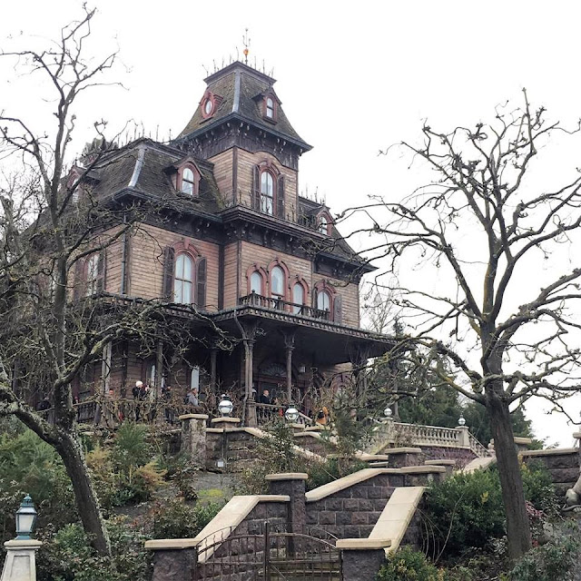 Phantom Manor Frontierland Disneyland Paris
