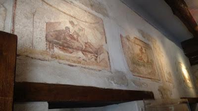 inside a Pompeii brothel