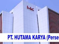 Lowongan Kerja PT Hutama Karya (Persero) 2018/2019