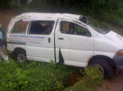 futa rccg student killed car accident