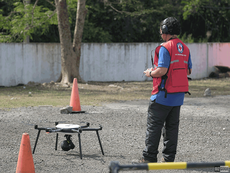 Nokia Saving Lives Program drone and Philippine Red Cross drone pilot!