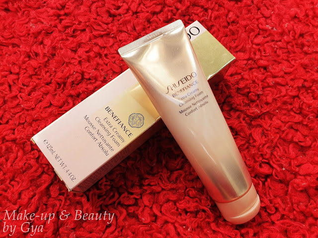 Benefiance Extra Creamy Cleansing Foam de Shiseido - Review