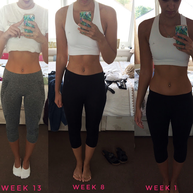 Results With Lucy before and after
