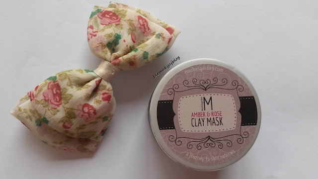 Moshos Garden Clay Mask Amber Rose / Gül&Amber Kil Maskesi