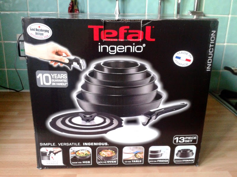 PRODUCT REVIEW: Tefal Ingenio range | The Graphic Foodie | Brighton