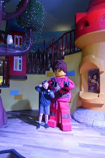 Legoland Hotel Windsor Ninjago character
