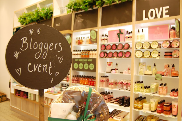 The Body Shop Liverpool One blogger event