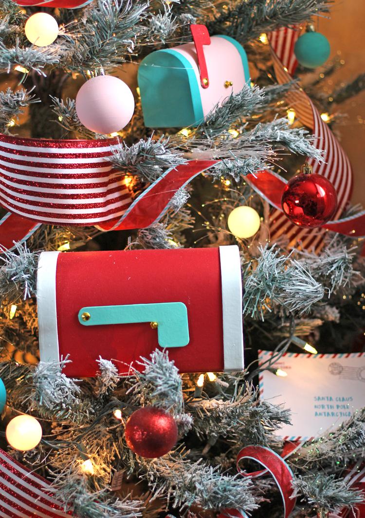 Ribbon on a Christmas Tree