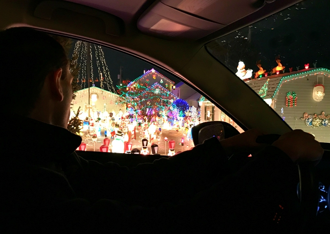 During The Holidays, We Always Love To Take An Evening To Drive Around  Admiring The Christmas Lights In Our Area. On Saturday Night, We Had A  Little Bit Of ...