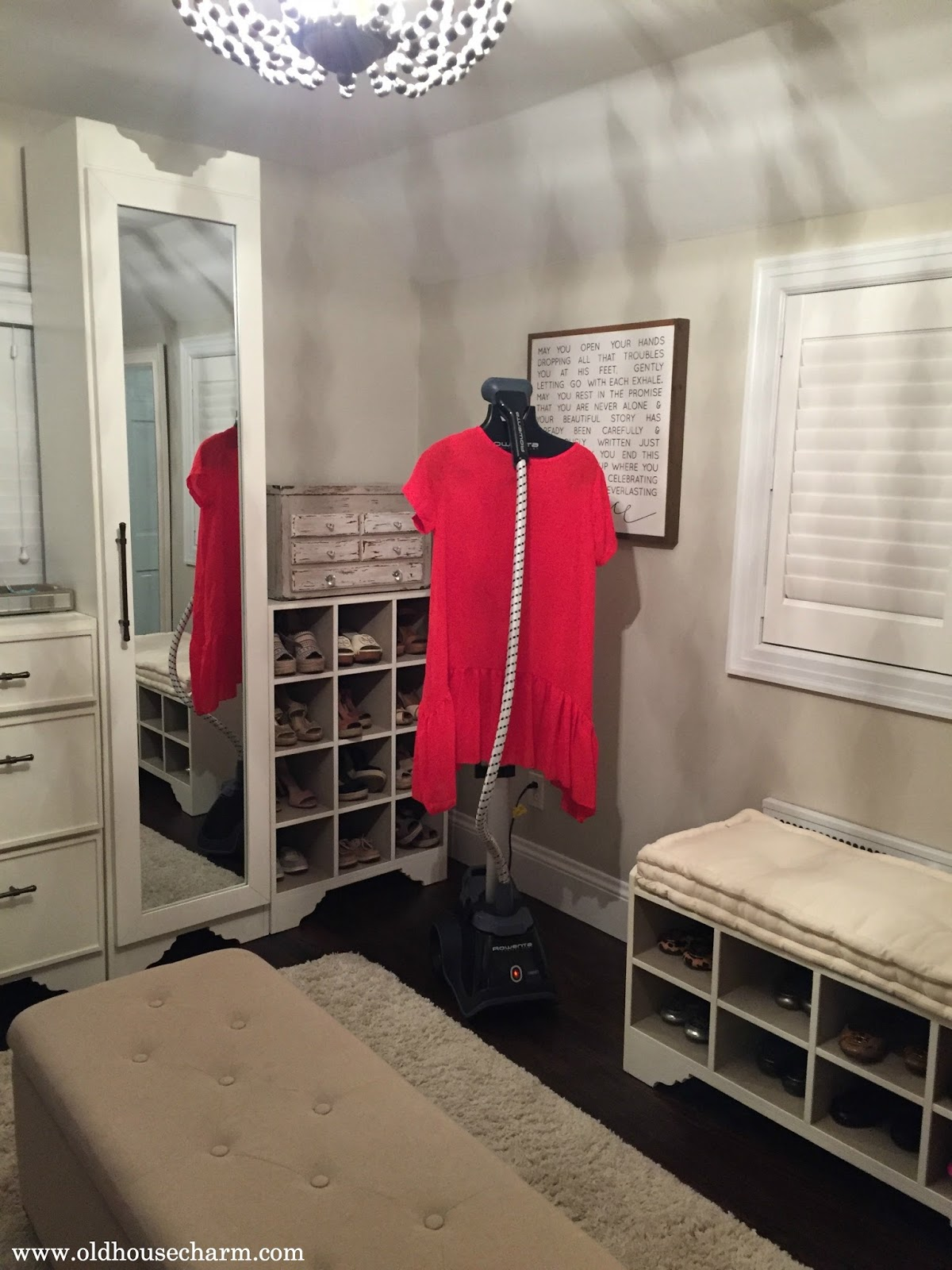 The Fabulous Thing About A Closet Room Is That You Can Leave A Steamer Out  In The Room. If You Donu0027t Own A Steamer, You Are So Missing Out...LIFE  CHANGING!