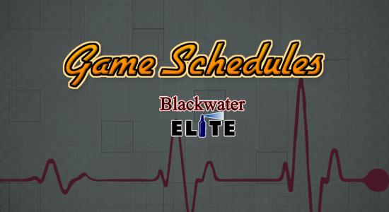 List: Blackwater Elite Game Schedules 2017-2018 PBA Philippine Cup