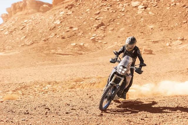 Yamaha Tenere 700 con buenas características
