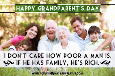 Grandparents Day Quotes 2016 | National Grandparents Day Greetings Messages