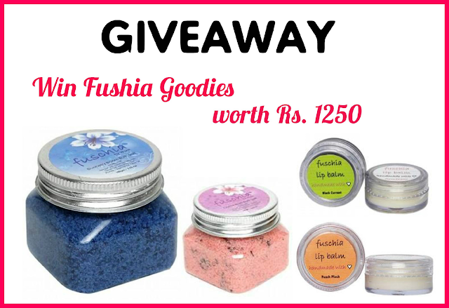 Giveaway - Win Goodies by Fuschia by Vkare [Closed]