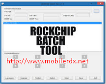 Rockchip Batch Tool V1.8 Download Full Setup