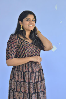 Actress Aparna Balamurali In Sarvam Thaala Mayam Movie Press Meet Photos