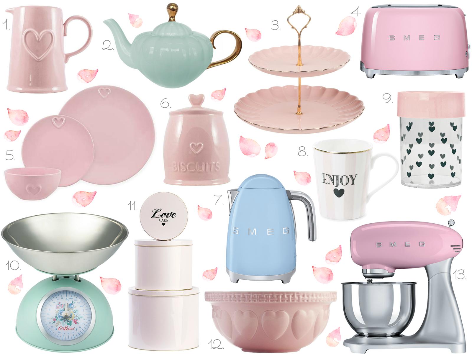 Pastel Homeware/Kitchen Wishlist