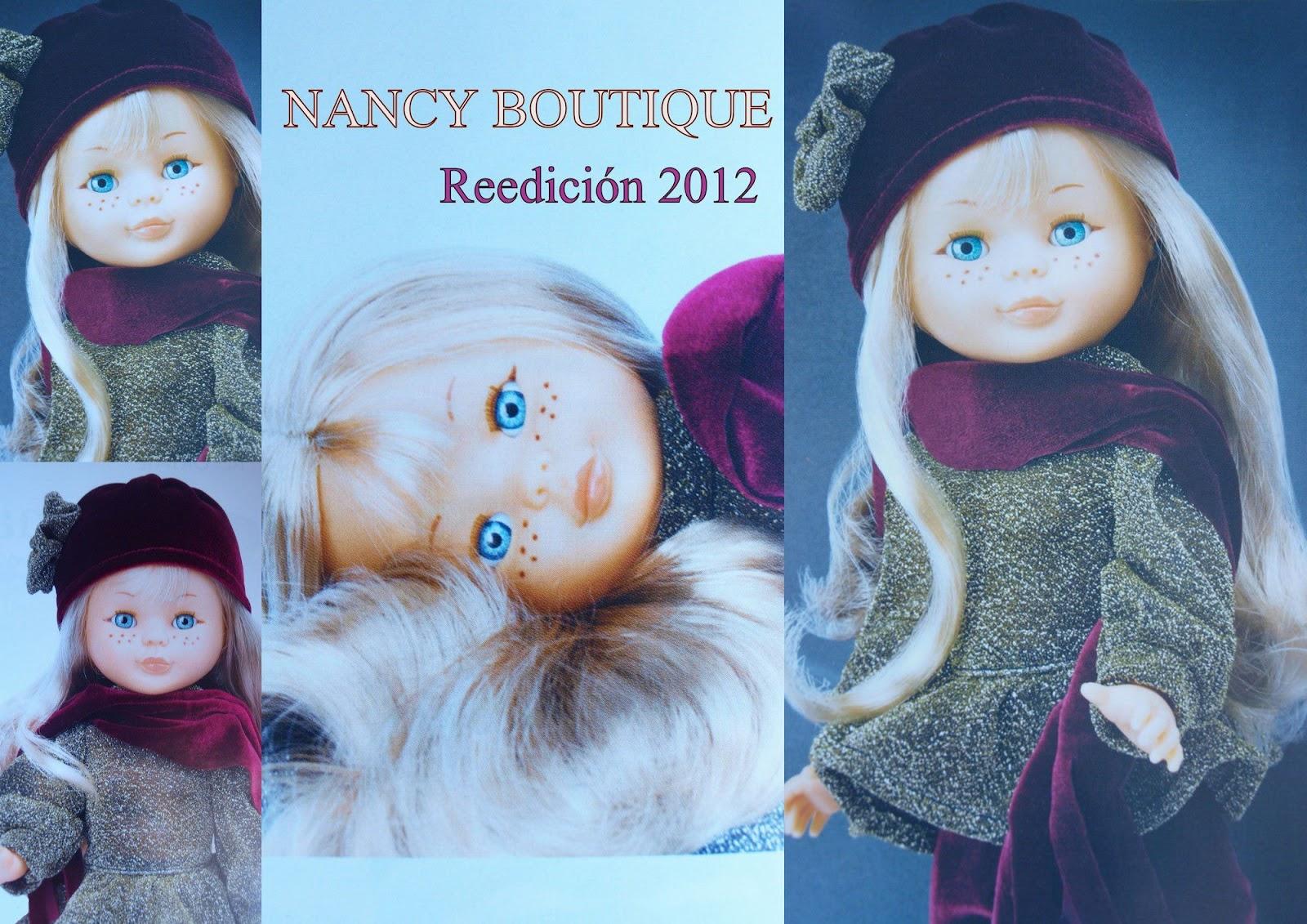la mu eca nancy nancy boutique reedici n 2012. Black Bedroom Furniture Sets. Home Design Ideas