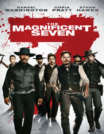 The Magnificent Seven 2016 Hindi Dual Audio BRRip Full Movie Download