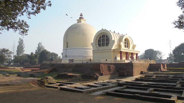 Stupa Kushinagar Uttar-Pradesh