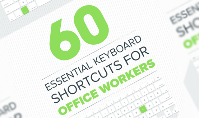 Infographic: 60 Essential Keyboard Shortcuts To Boost Your Productivity