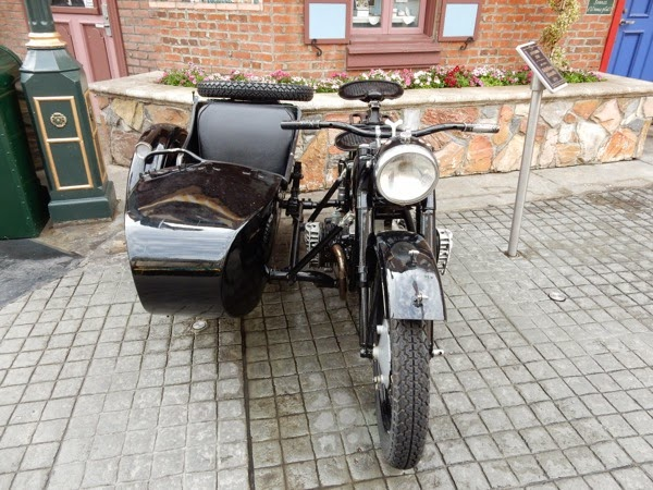Inglourious Basterds movie motorbike