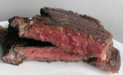 Smażony stek wołowy