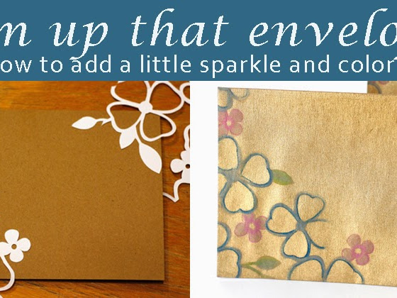 Glam up that envelope