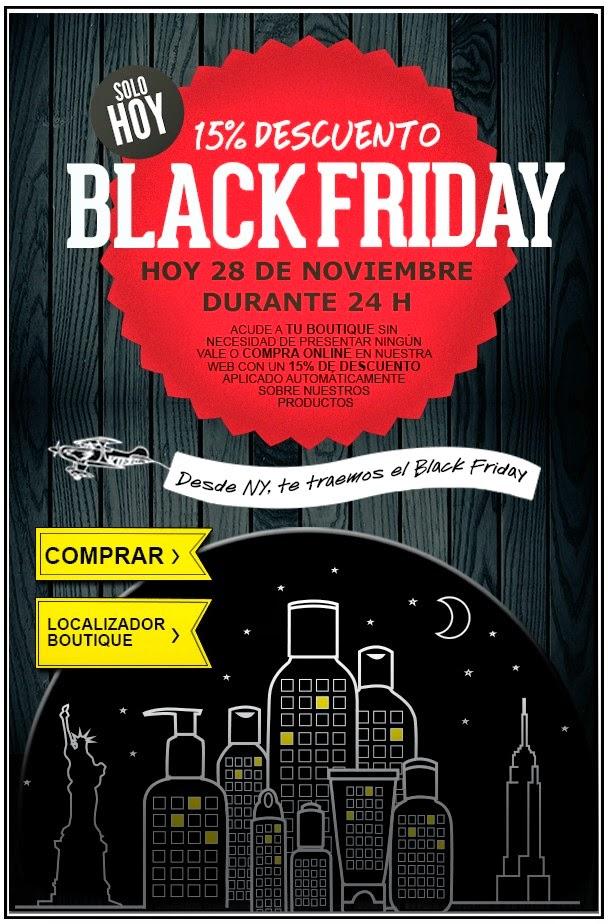 Black Friday 2014 en Kiehl's: 15% de descuento!