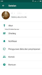 Cara mengganti atau menghapus akun WhatsApp