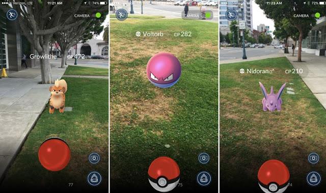 Cara menangkap Pokémon di Pokémon GO
