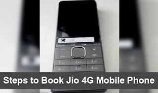 Book Jio 4G Mobile Phone