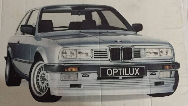 BMW E30 Taifun Square quad headlights