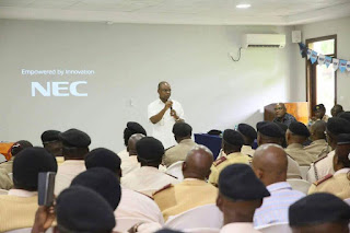 Amason Kingi at a nec meeting. PHOTO | COURTESY