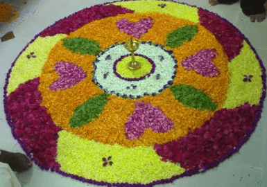 onam pookalam photos floral designs 2016