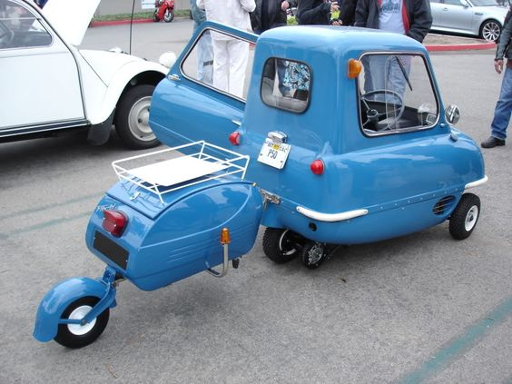 Bolly Blog: Peel - The World's Smallest Car.