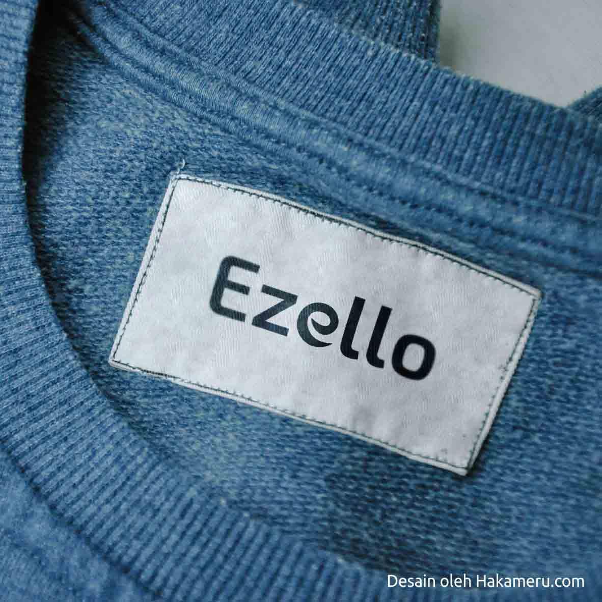 Penamaan dan desain logo untuk pakaian muslim, office wear, fashion, baju muslim santai, pakaian modest, tunik / outer - Ezello
