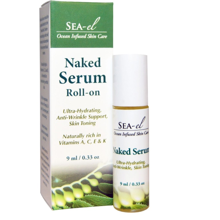Sea inspired Skin Care from Sea-el Naked Serum