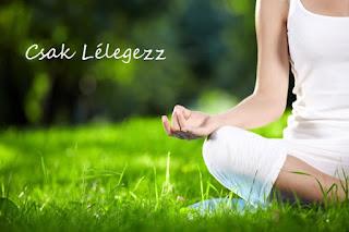 Légzés meditáció