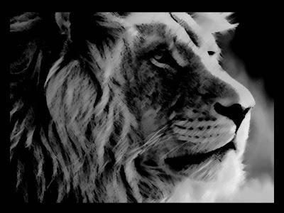 lion- symbol of courage