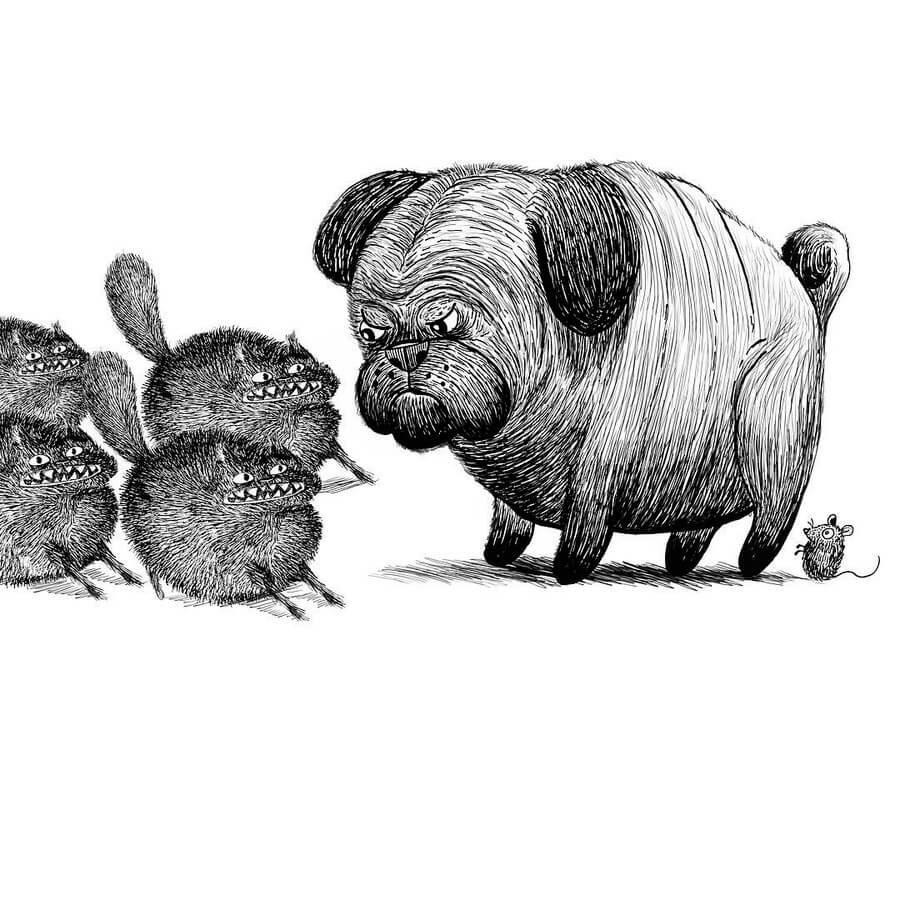 01-Defending-Rex-Lee-Little-Creatures-www-designstack-co