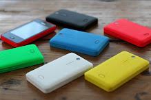 Nokia Asha 501 belakang
