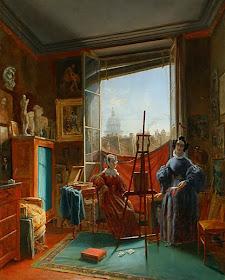 L'Artiste dans son Atelier de Paris, Hortense Haudebourt-Lescot