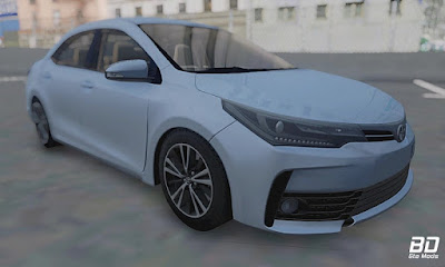 Download mod : Toyota Corolla 2018 para GTA San Andreas , GTA SA jogo PC