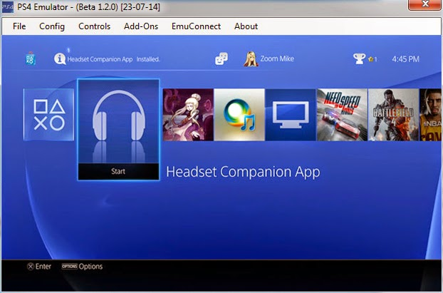 PS4 Emulator [BETA]1 2 0 - Play PS4 Games on your PC ~ Hacks