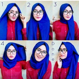 tutorial hijab simple dan modis
