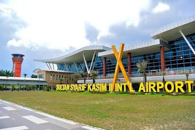 Hasil gambar untuk Bandar Udara dan Pelabuhan di Kota Pekanbaru, Provinsi Riau, Indonesia